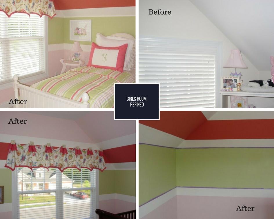 Girls Bedroom Refined